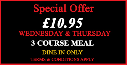 Special Offer at Bengal Village - Indian Restaurant in Hinckley